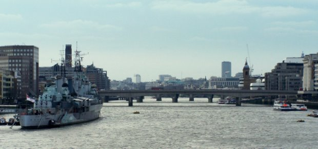 London, seen from Tower Bridge - Mike Sowden 2008