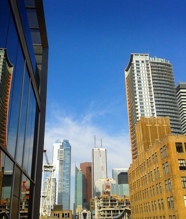 skyscrapers toronto